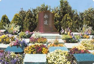 お花がきれいな樹木葬
